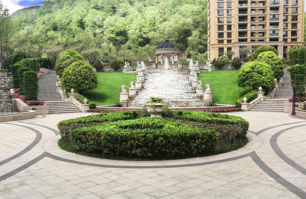 紫騰莊園園林景觀工程