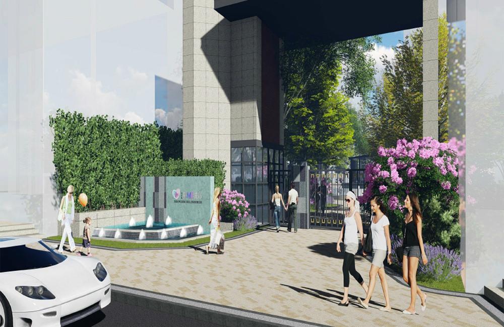 上海南翔辦公二三期項目景觀設計