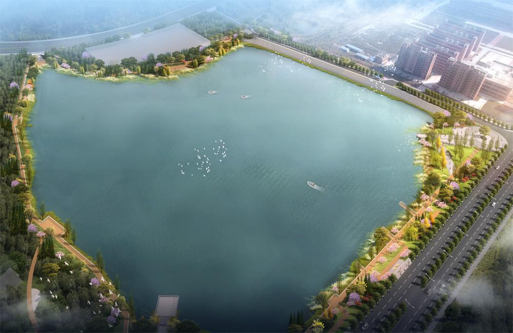 韶关市武江区甘棠工业园景观提升工程