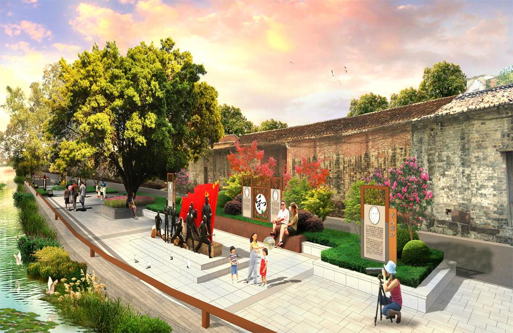 石灣鎮源頭村景觀提升項目