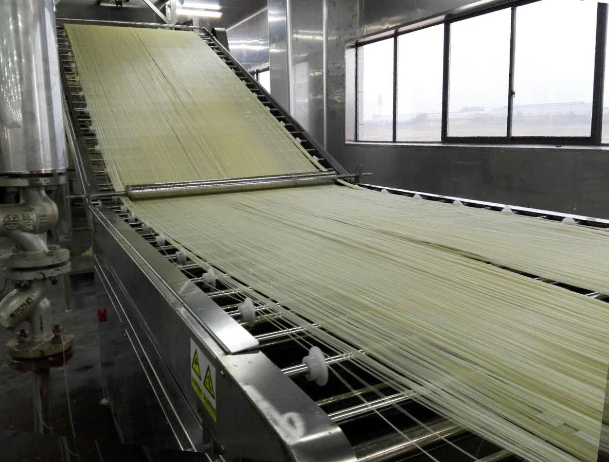 全自动即食米粉生产线,大批量生产米粉的好助手