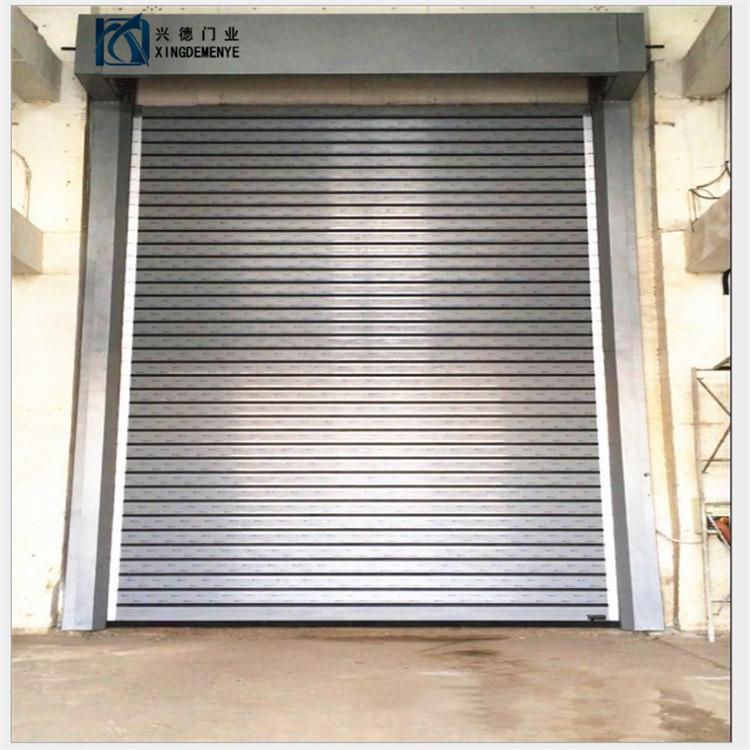 深圳硬质快速卷帘门的三层保护