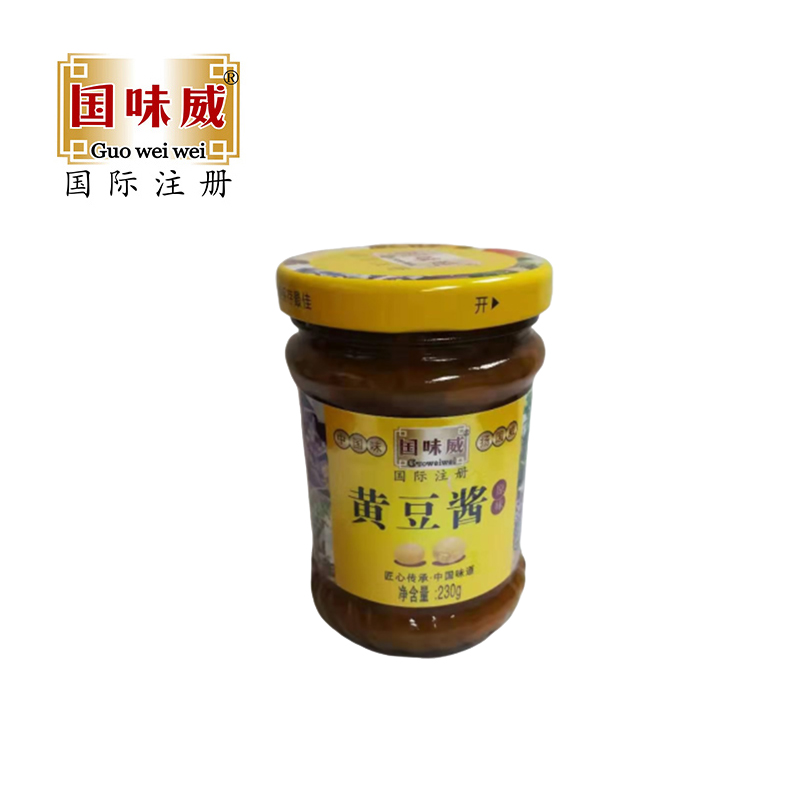 國味威牌- 黃豆醬230g