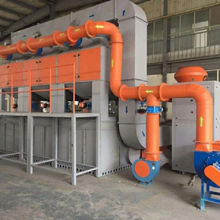 催化燃烧设备的特点及工作原理