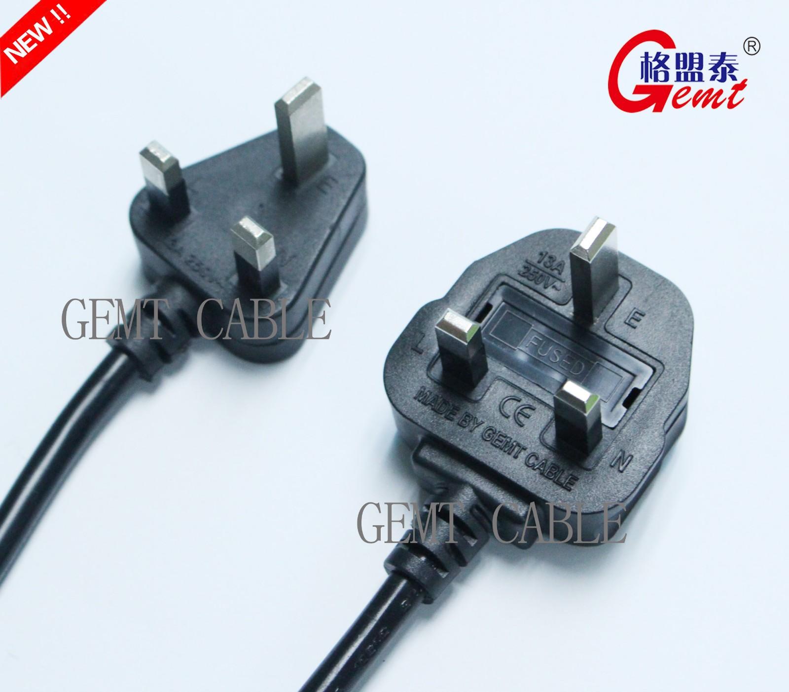 英式电源插线