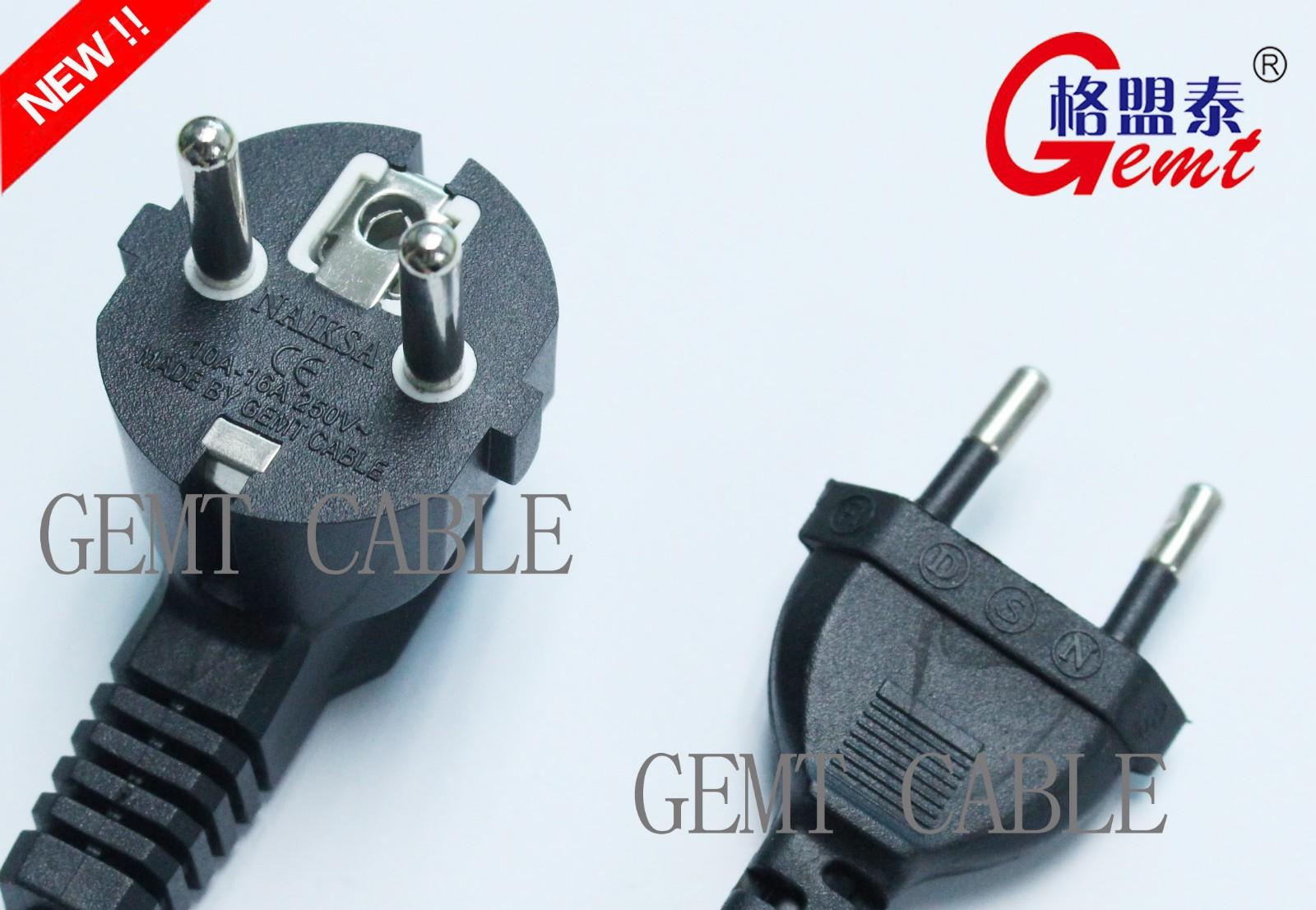 欧规电源插线