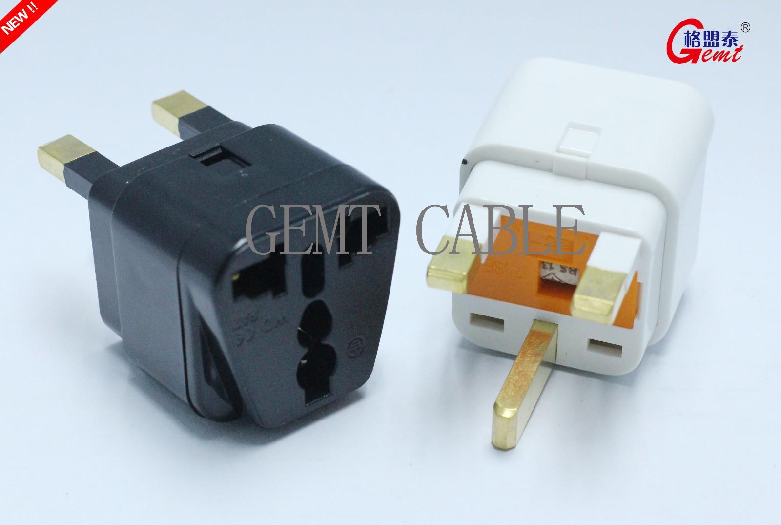 WD-7F 英标转换头 万能转换插座 带保险丝
