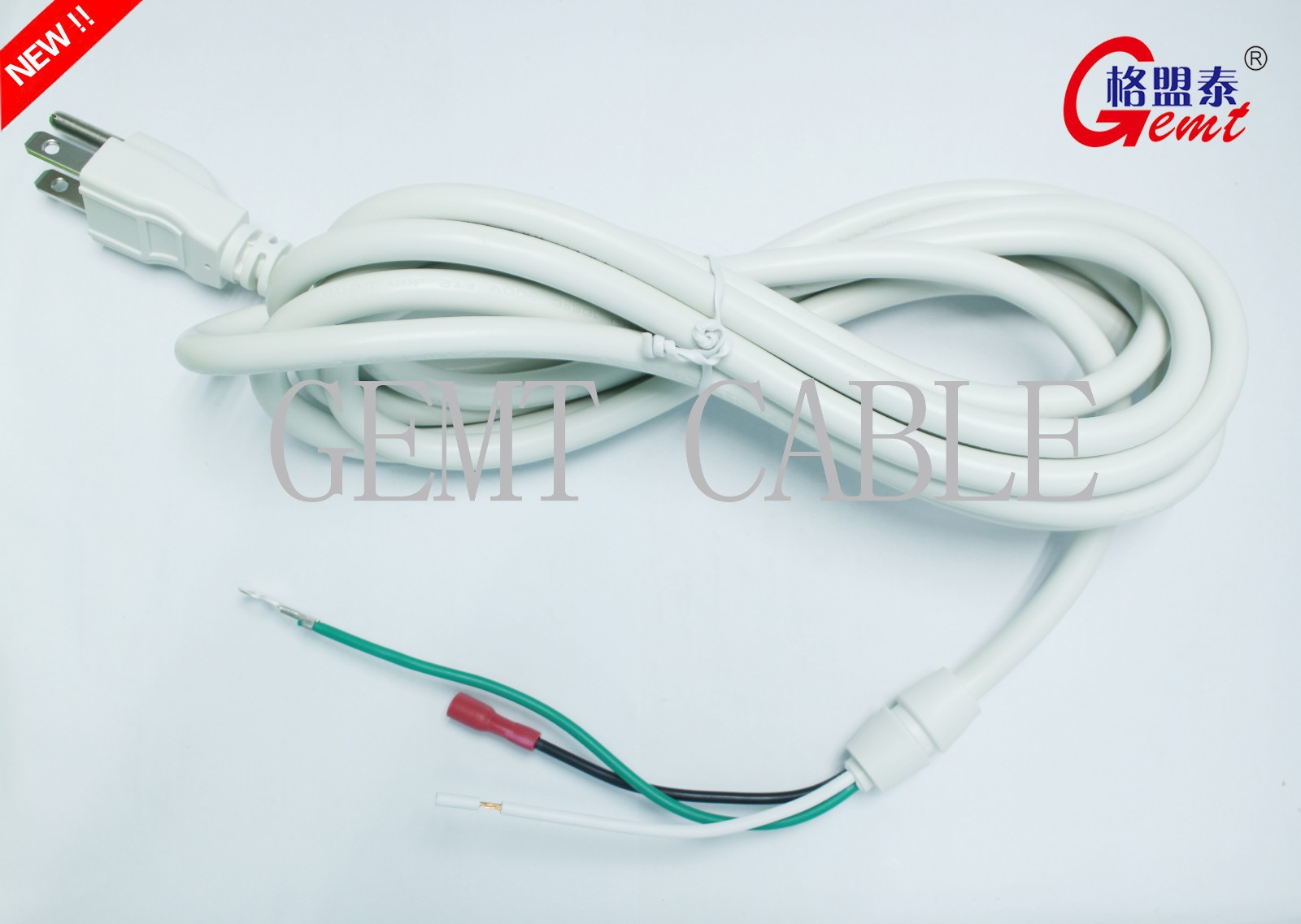 power cord with connector