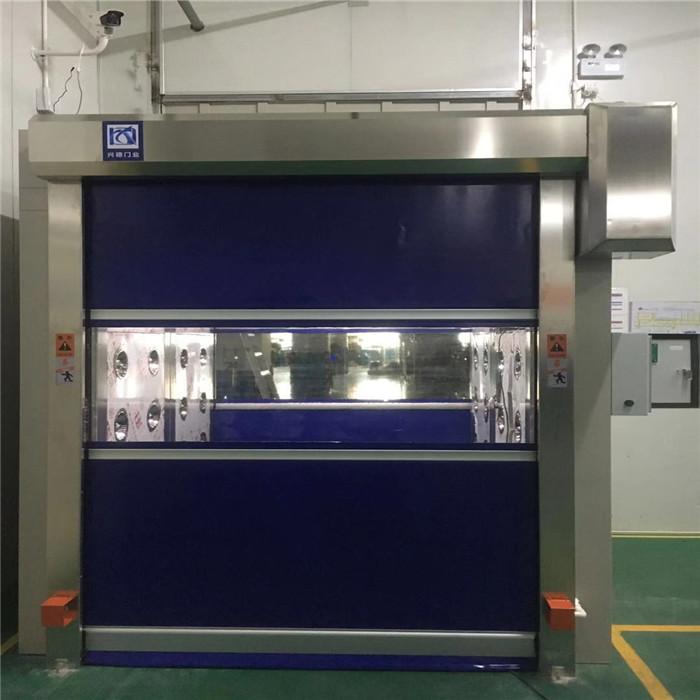 深圳涂装生产线自动化快速门 快关门