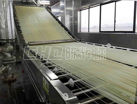 对于自动化米粉生产线出厂的硬性指标解读