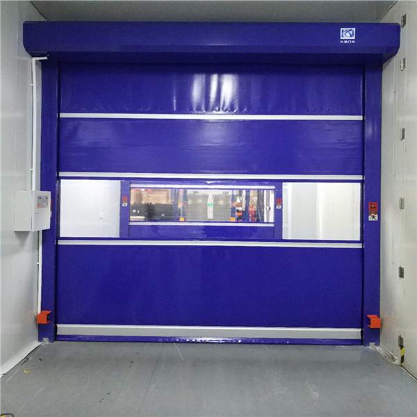 PVC透明快速门厂家的品质