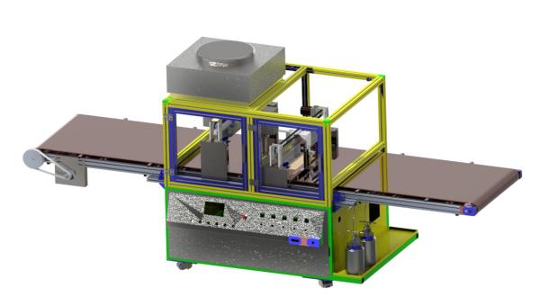 WT-PT02全自动AF喷涂等离子处理一体机