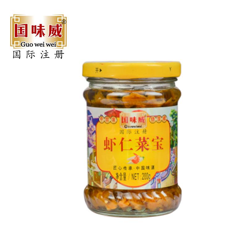 國味威牌-蝦仁菜寶200g