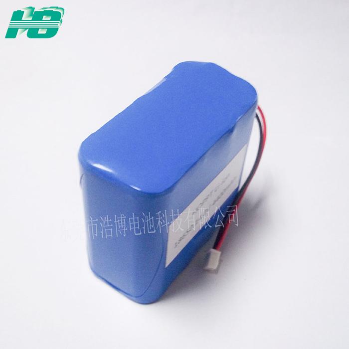 浩博18650锂电池14.8V4400mAh大容量4S2P三元锂离子充电电池厂家
