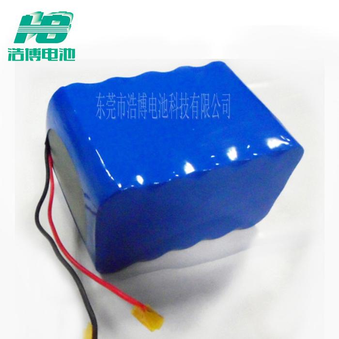 浩博18650锂电池6600mAh储能电池11.1V伏应急灯备用电源12v电池组