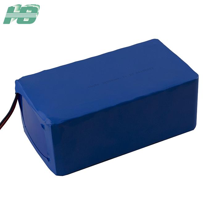 浩博18650锂电池11.1V30Ah大容量16S3P三元锂离子可充电电池厂家