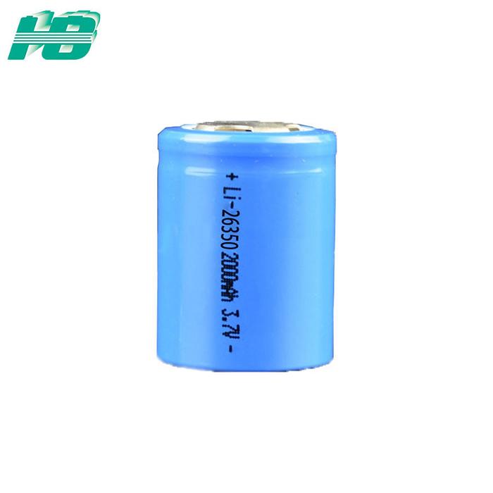 厂家直销26350锂电池带PCB保护板2000mAh毫安3.7V云台电池组 定制