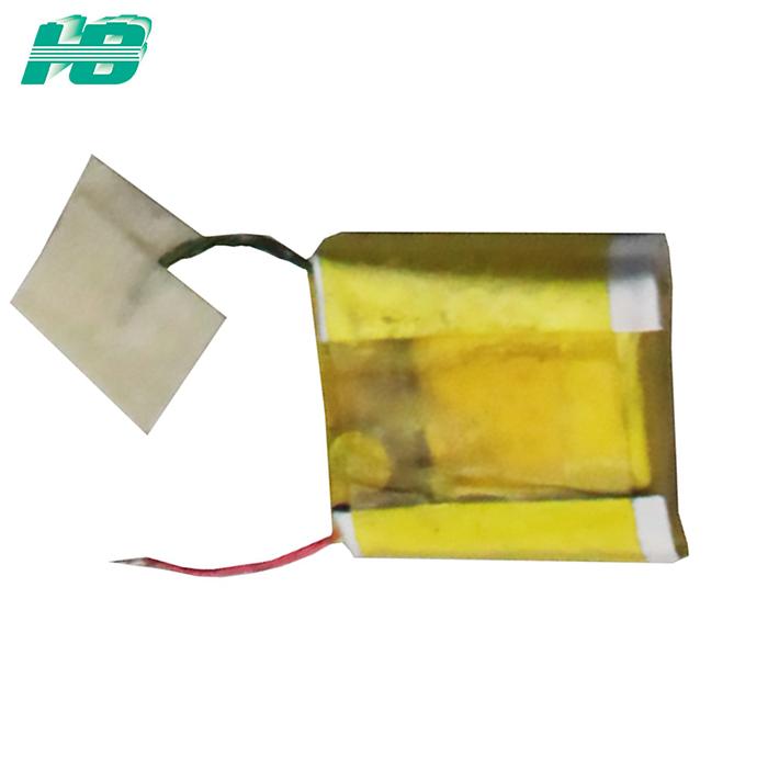 超薄锂电池101010最薄0.35mm聚合物锂电池4mAh定制3.7V固态锂电池