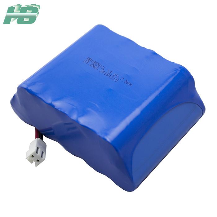 浩博-40℃低温锂离子可充电电池组11.1V7.5Ah锂电池18650厂家直销