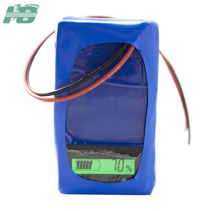 浩博18650锂电池24V38Ah气象监测仪锂离子充电电池厂家直销大容量