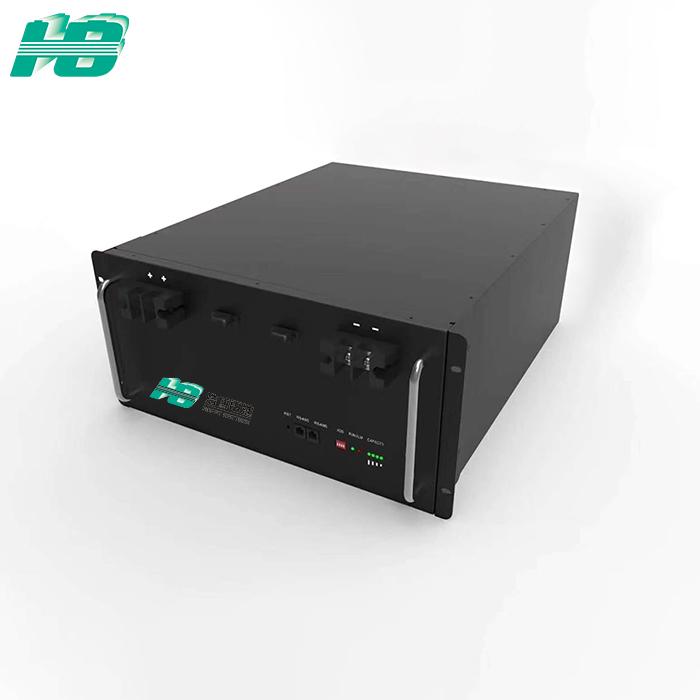 浩博-40℃低温锂电池定制192VDC在线机架式UPS磷酸铁锂电池组厂家