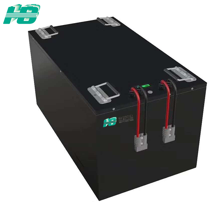 浩博-40℃低温锂电池定制48v100AH机器人AGV车磷酸铁锂电池组厂家