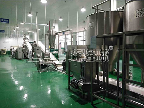 陈辉球自动化米粉生产线