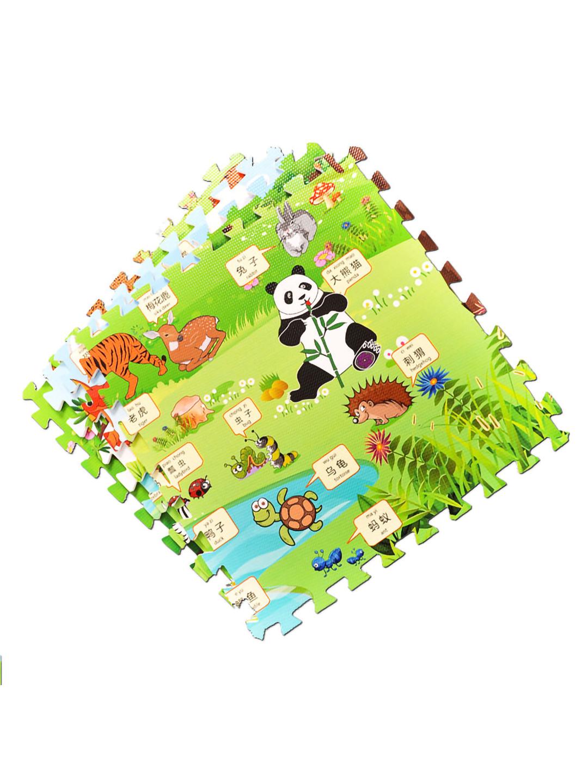 EVA木纹-卡通地垫膜