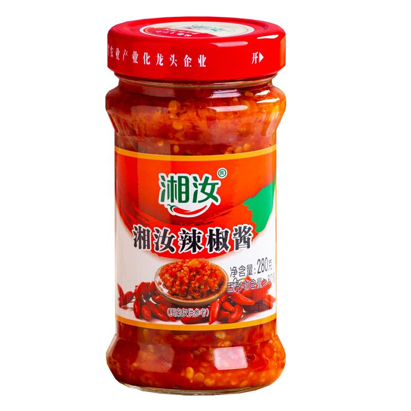 湘汝辣椒酱280g拌饭酱辣酱