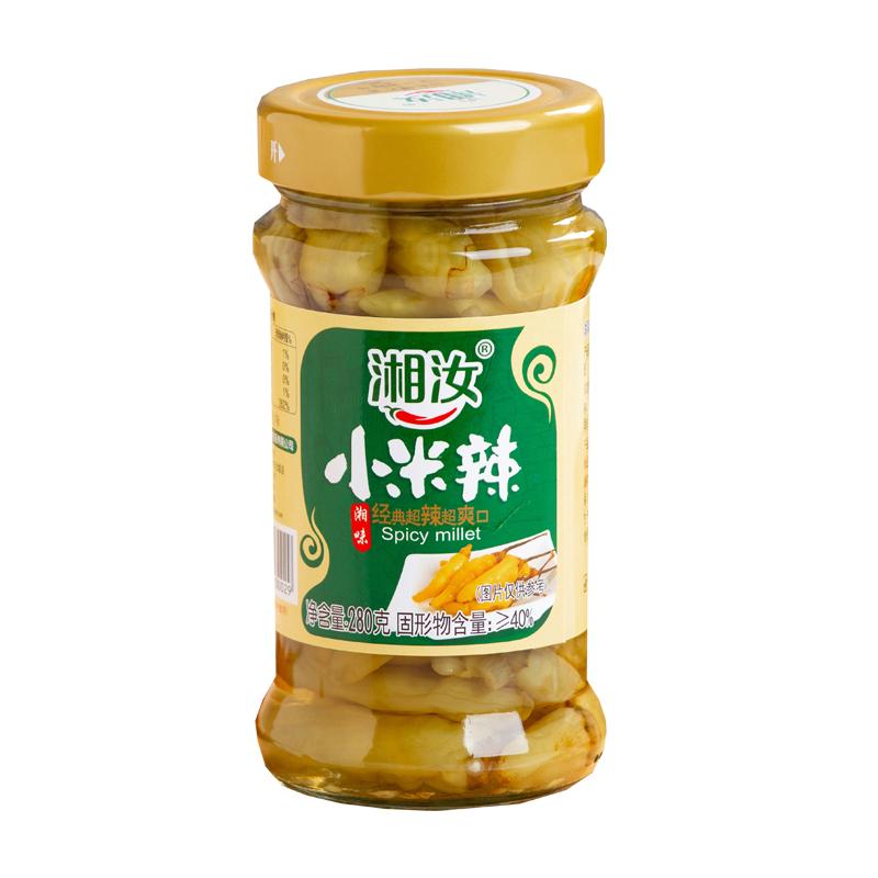 湘汝泡椒小米辣椒280g朝天椒