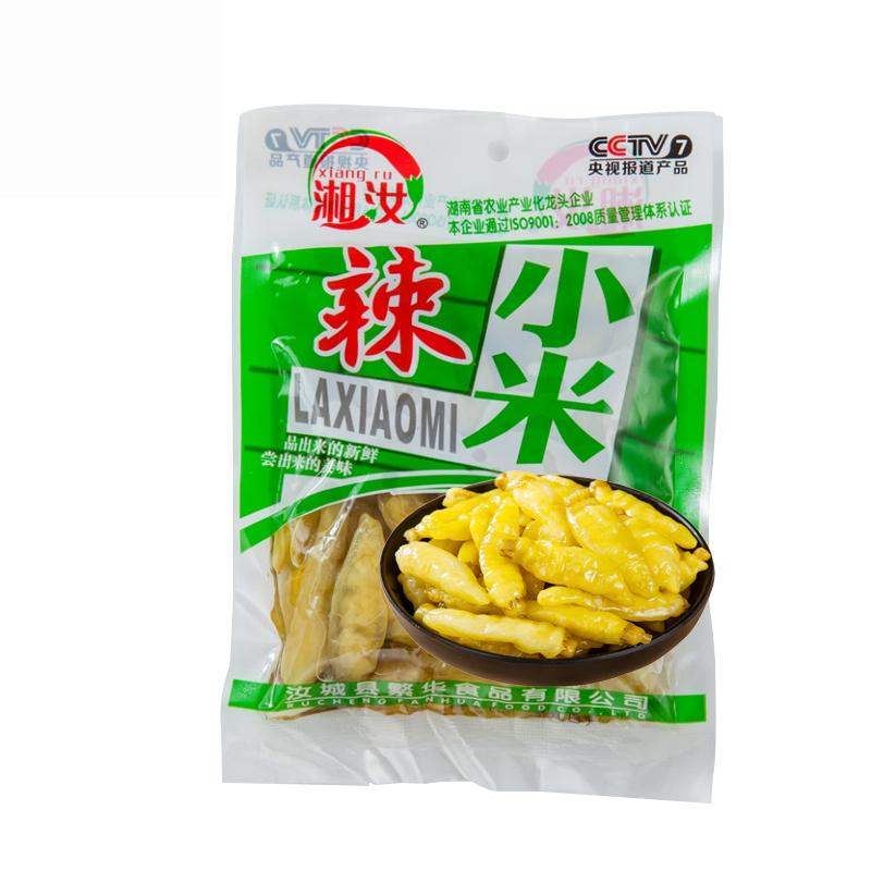 湘汝小米辣椒泡椒168g