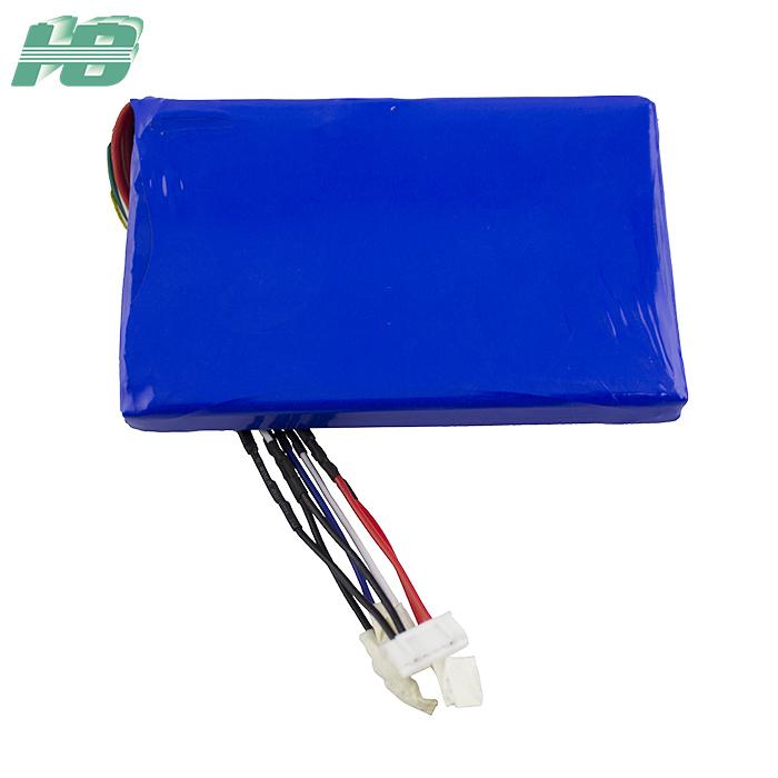 浩博4075118低温聚合物锂电池4200mAh三元锂离子11.1V充电电池厂