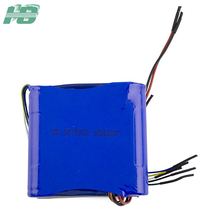 浩博-40低温电池18650可定制14.8V2500mAh三元锂离子充电电池厂家