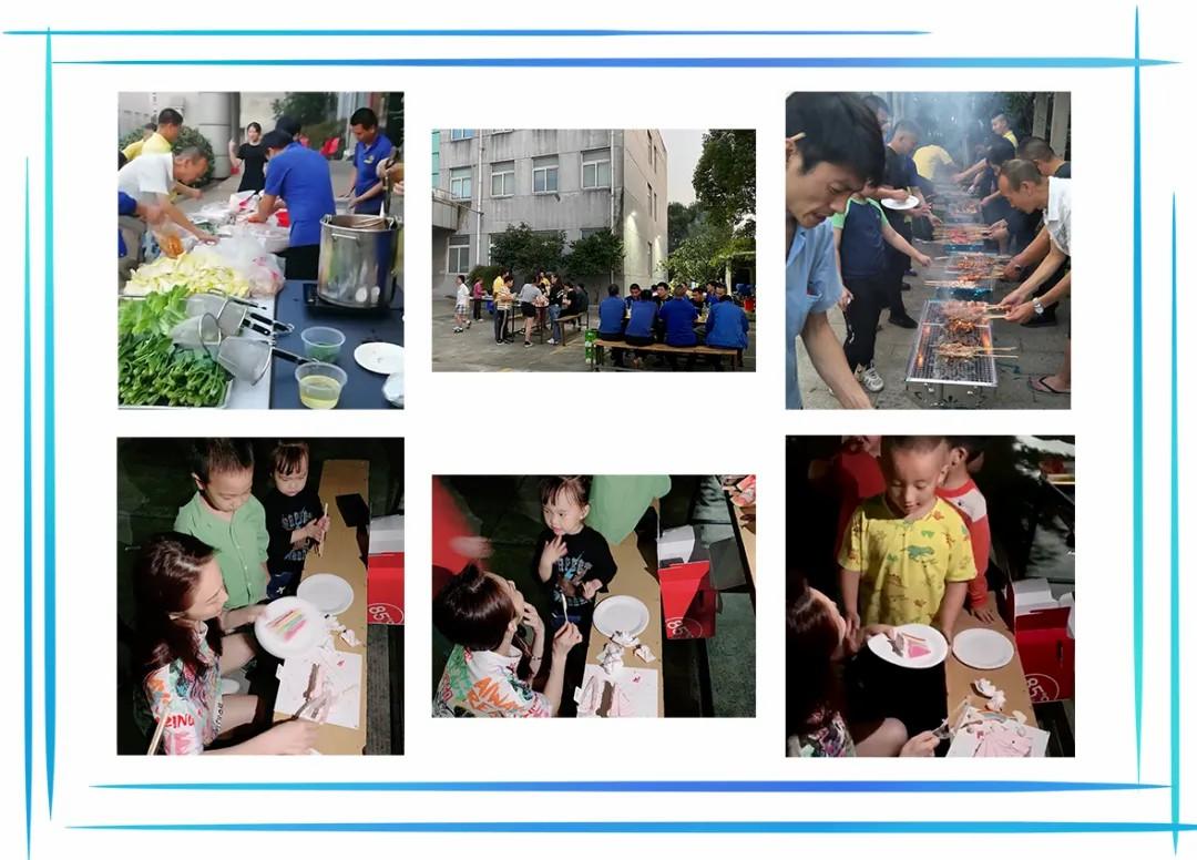 为孩子们举办的烧烤活动举办啦!