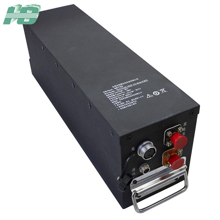 浩博32V40Ah磷酸铁锂电池RS485通讯2770148机器人锂电池订制厂家