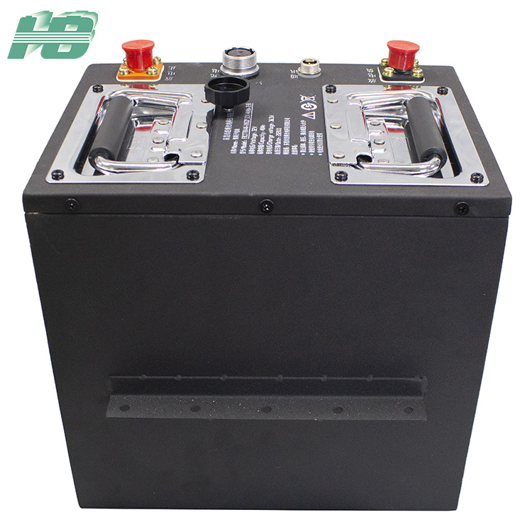 浩博2770148磷酸铁锂电池RS485通讯机器人32V40Ah锂电池订制厂家