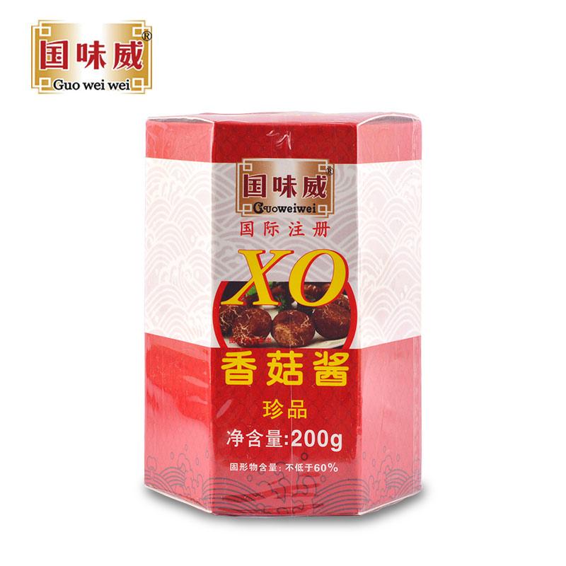 國味威牌-拌面拌飯醬 香菇醬200g