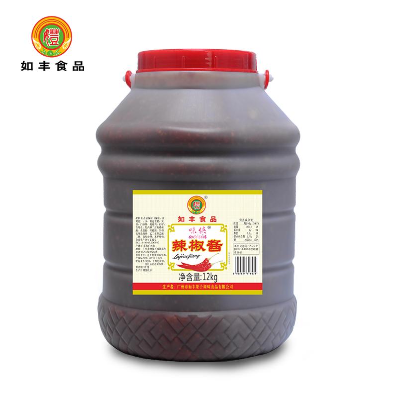 如豐-12kg辣椒醬