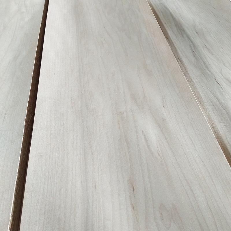 American maple veneer crown cut