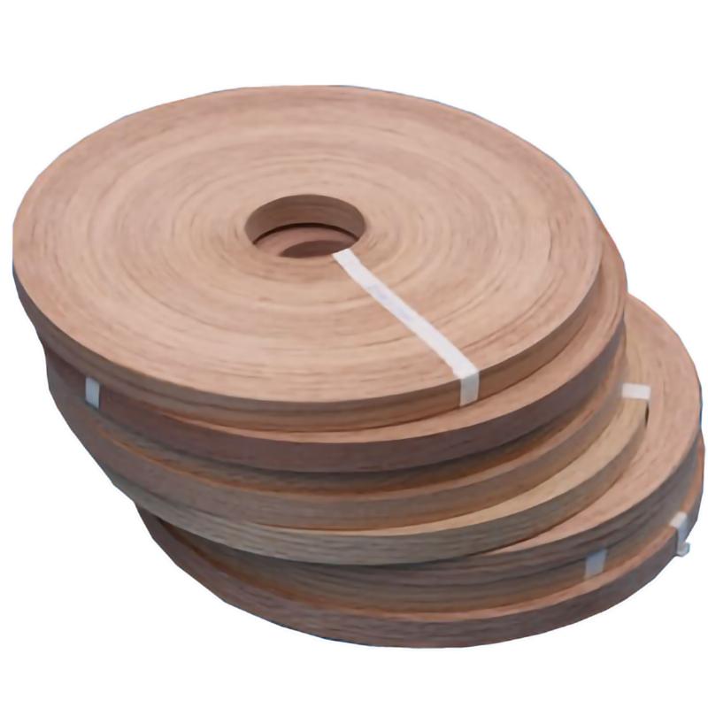 Red oak wood veneer edge banding