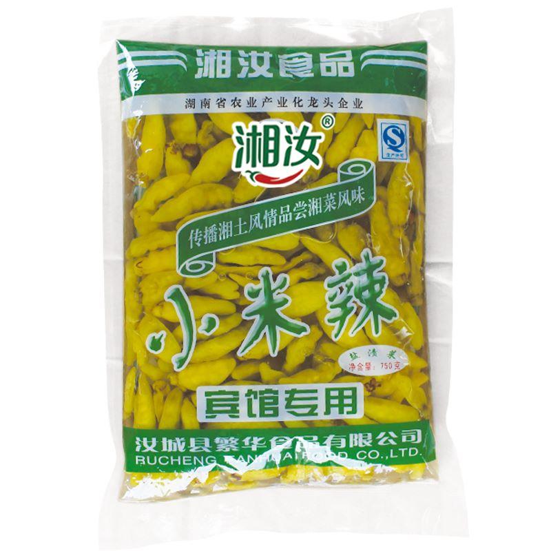 湘汝小米辣椒泡椒1袋750g
