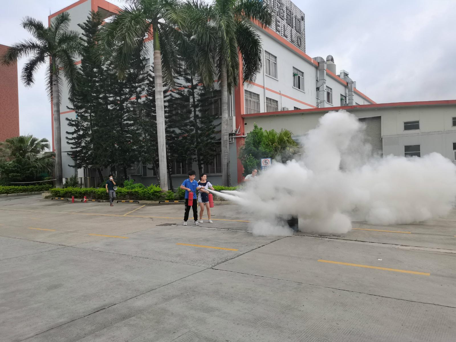 2021年度員工消防演習