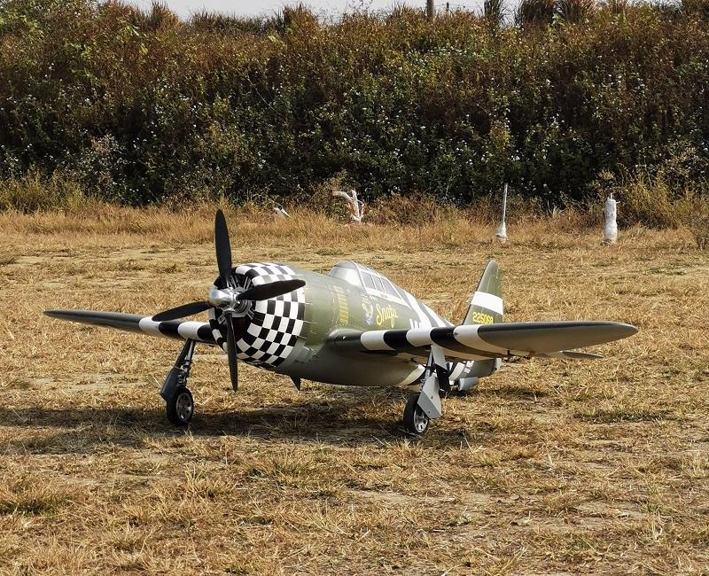 1:5 P-47B Thunderbolt